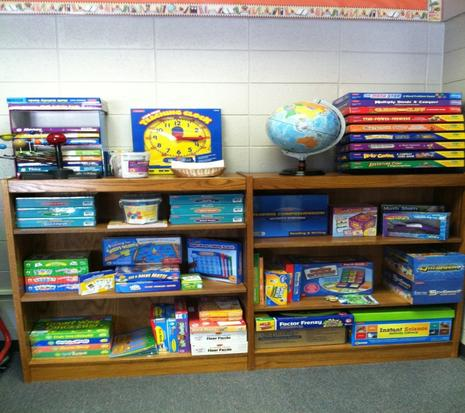 LCES/LCMS Parent Resource Center - Find games and activities to help improve  your child's reading and math skills. Located in the Media Center
